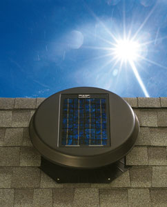 View Photo: Solar powered Roof Ventilation