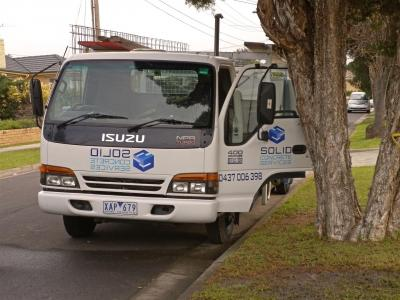 View Photo: The Solid Concrete Services Truck