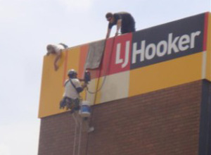 View Photo: Rope Access Signage Service