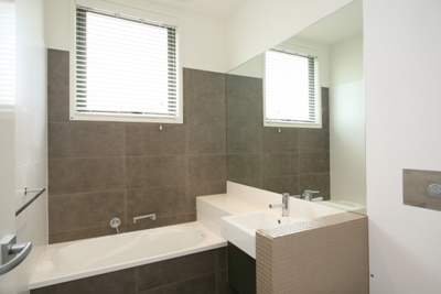 View Photo: Large and Mosaic Bathroom Tiling