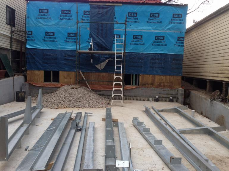 View Photo: Galvanized Steel Ready For Installation