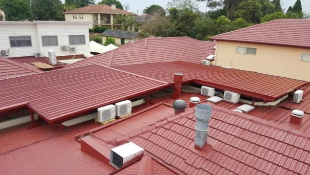 View Photo: New Roof Structure over Courtyard