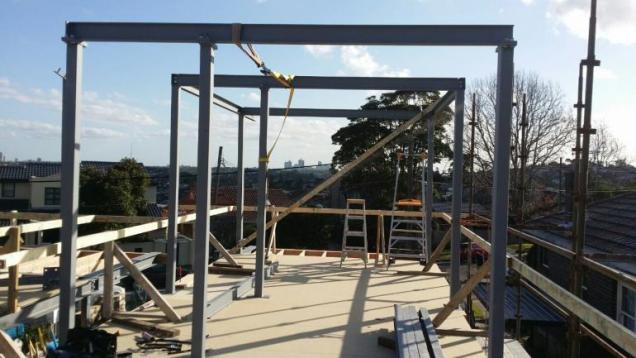 View Photo: Second Floor Installation