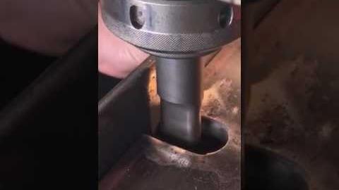Watch Video: Punch and Die Machine
