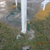 SHS Column Badly Eroded