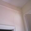 Vertical Crack Above Doorway