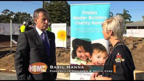 Watch Video: Pindan Master Builders Charity Home Built by Switch