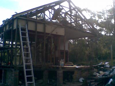 View Photo: Removal of asbestos sheeting - after image
