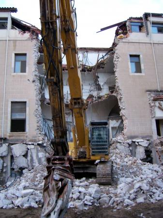 View Photo: Demolition of flats in Sydney