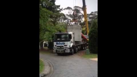 Watch Video: Sydney Water Tanks installation - video one