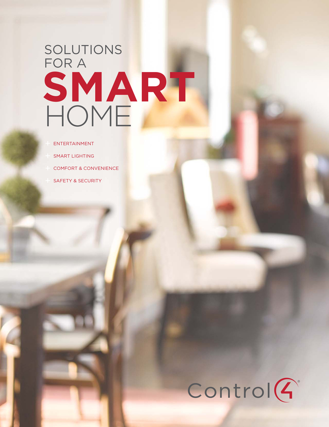 View Brochure: Solutions for a Smart Home