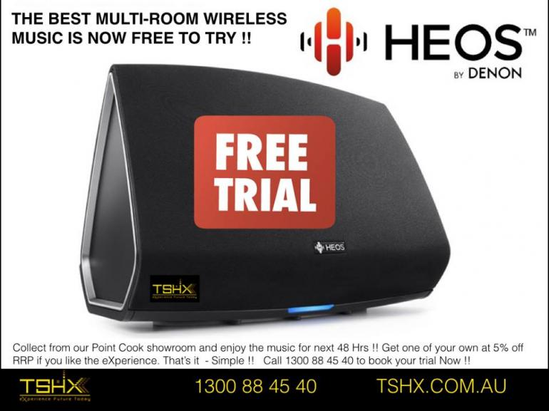 View Photo: HEOS - Free Trial Offer !!