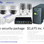 Z-Wave Home Security Package