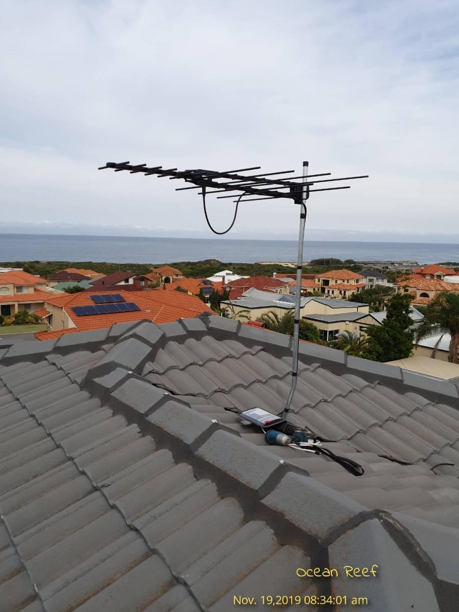 View Photo: Residential TV antenna installation