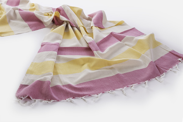 View Photo: Boheme - Lemon and Pink - $64.95