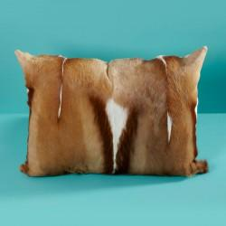 View Photo: Springbok Hide Cushion (also available in Black)