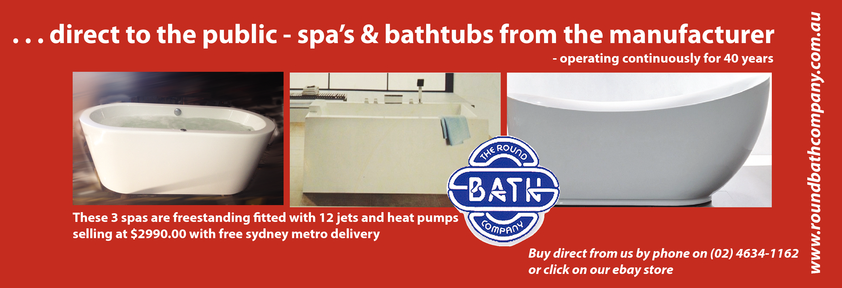 Browse Brochure: Direct to the public - Spas and Bathtubs