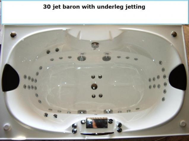 View Photo: Chromotherapy 30 Jet Baron Spa Bath