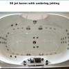 Chromotherapy 30 Jet Baron Spa Bath