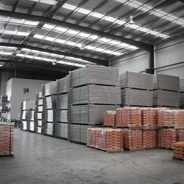 Our manufacturing warehouse