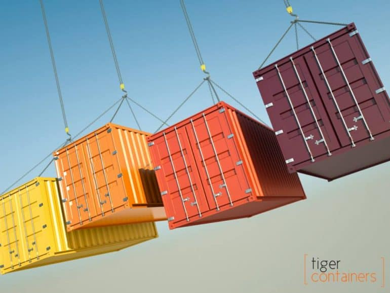 View Photo: All Sizes of Shipping COntainers