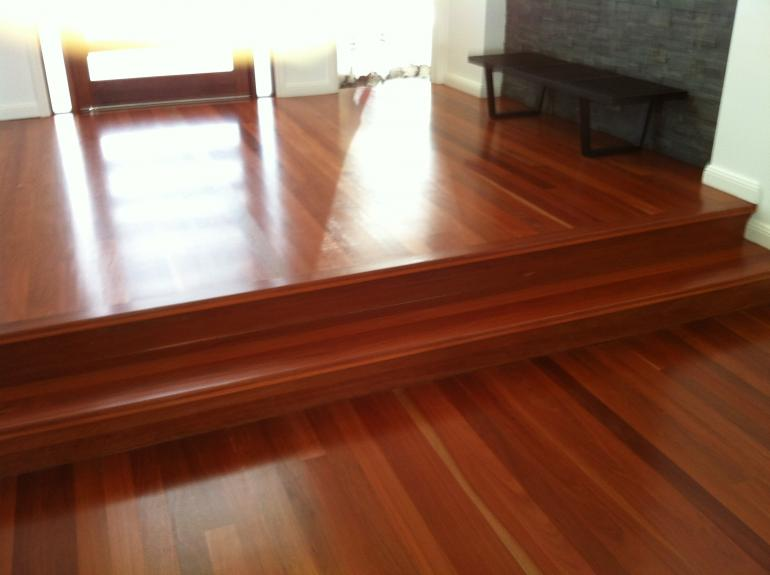 Grey Gum timber flooring