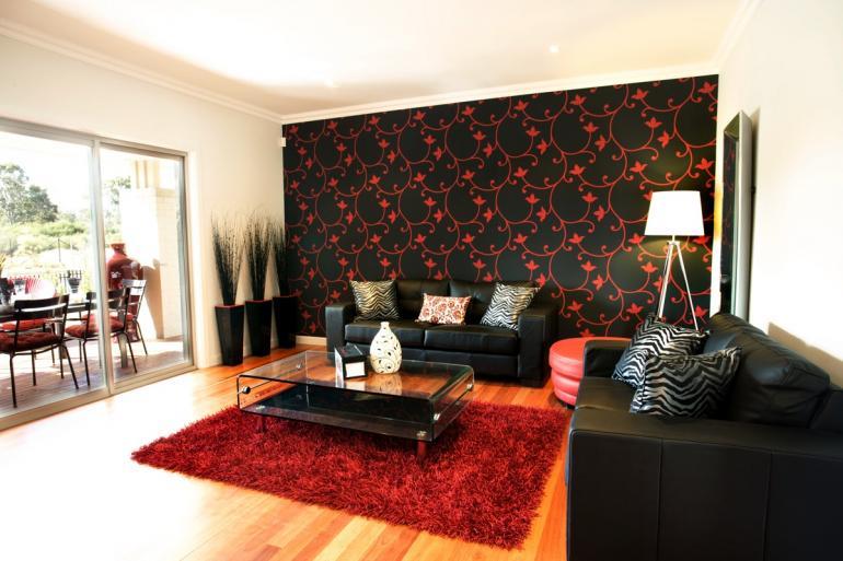 Living Room Timber Flooring