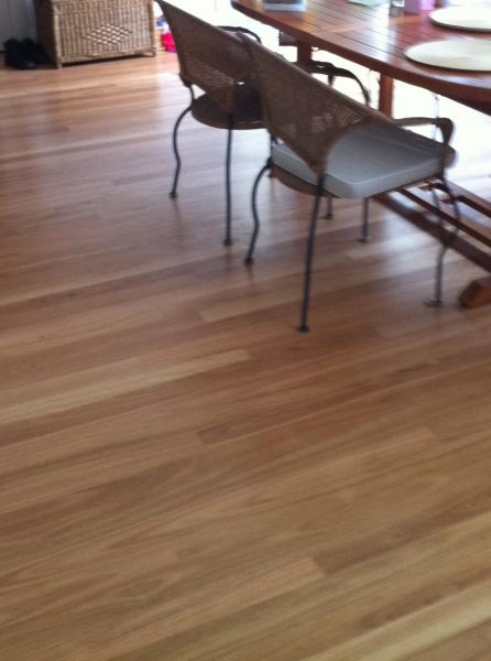 View Photo: Spotted Gum timber flooring
