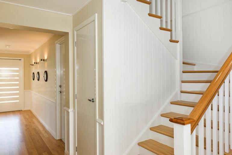 Timber Flooring and Timber Staircase