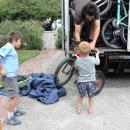 View Photo: Finally the kids get their bicycle