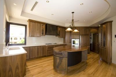 View Photo: Curved and Inset Kitchen Ceiling