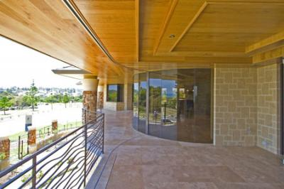 View Photo: External Wooden Ceiling