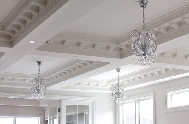 View Photo: Macedon St-living room feature ceiling