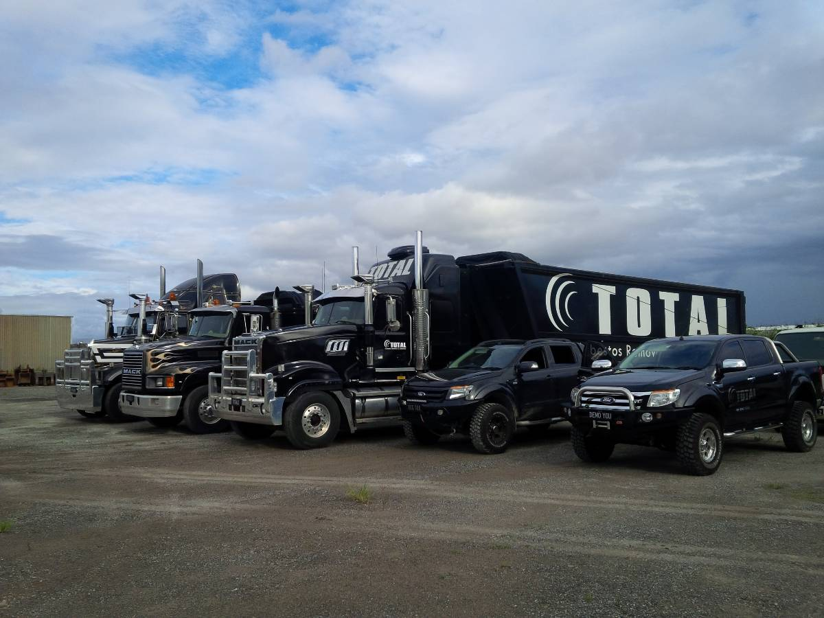 View Photo: Total Demolition Brisbane Fleet
