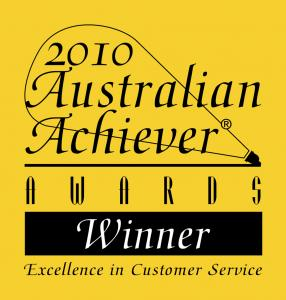 View Photo: 2010 Australia Achievers Award WINNER