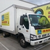 New Small Removal Truck has just been fully sign written.