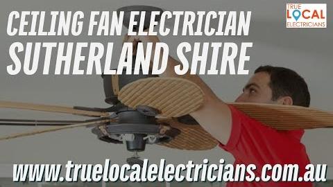 Watch Video: Ceiling Fan Electrician Sutherland Shire | Electrician to Fix Ceiling Fan | *** 0423 562 257 ***