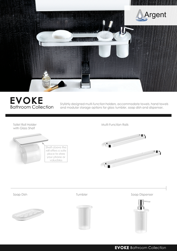 Browse Brochure: Argent Evoke 2015 Accessories