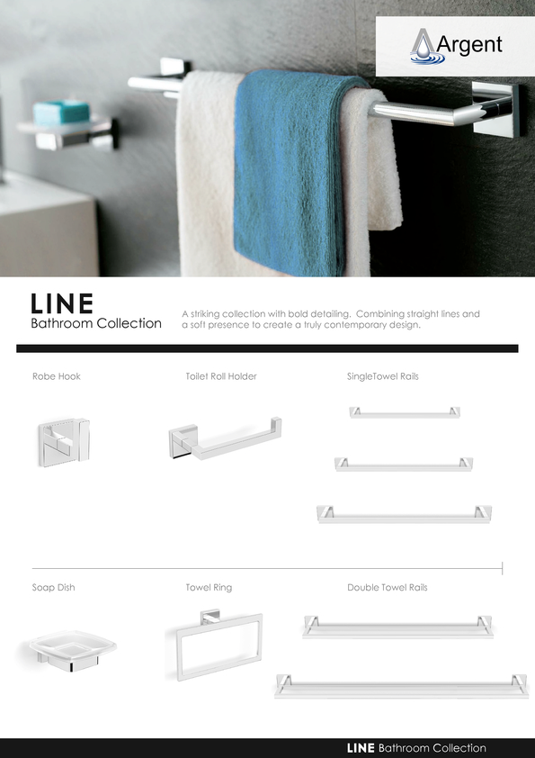 Browse Brochure: Argent Line 2014 Accessories
