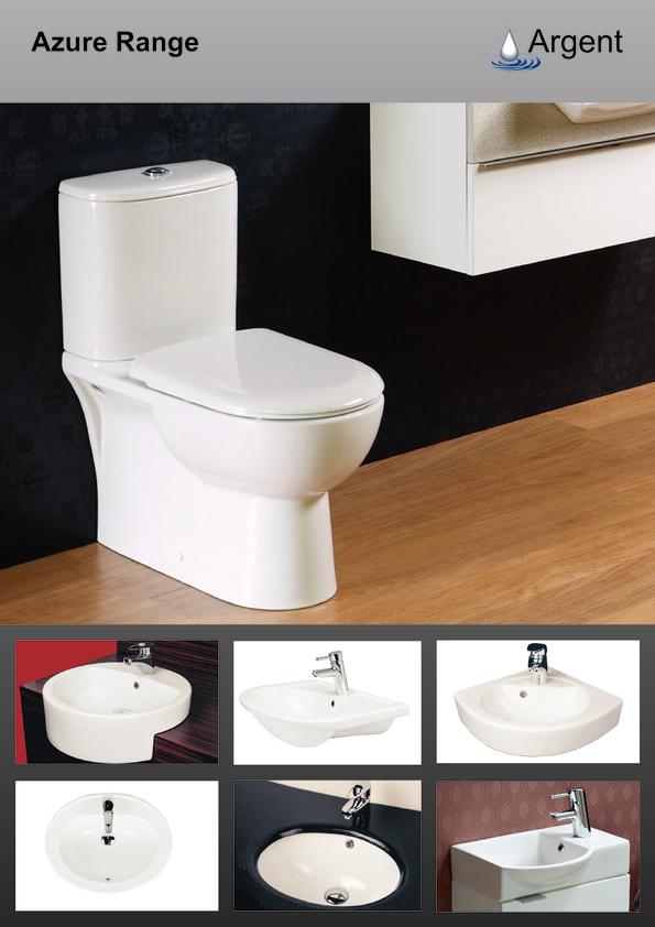 View Brochure: Argent SanitaryWare Azure 2012