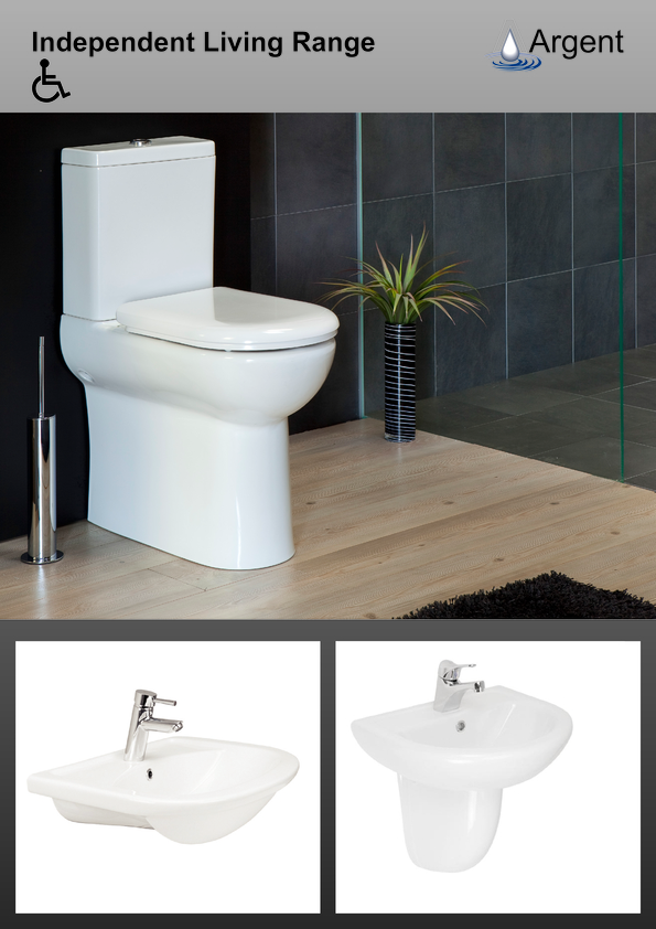 Browse Brochure: Argent SanitaryWare Independant Living