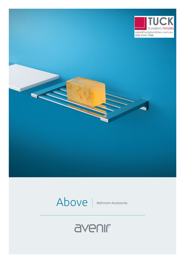 Browse Brochure: Avenir Above Accessories