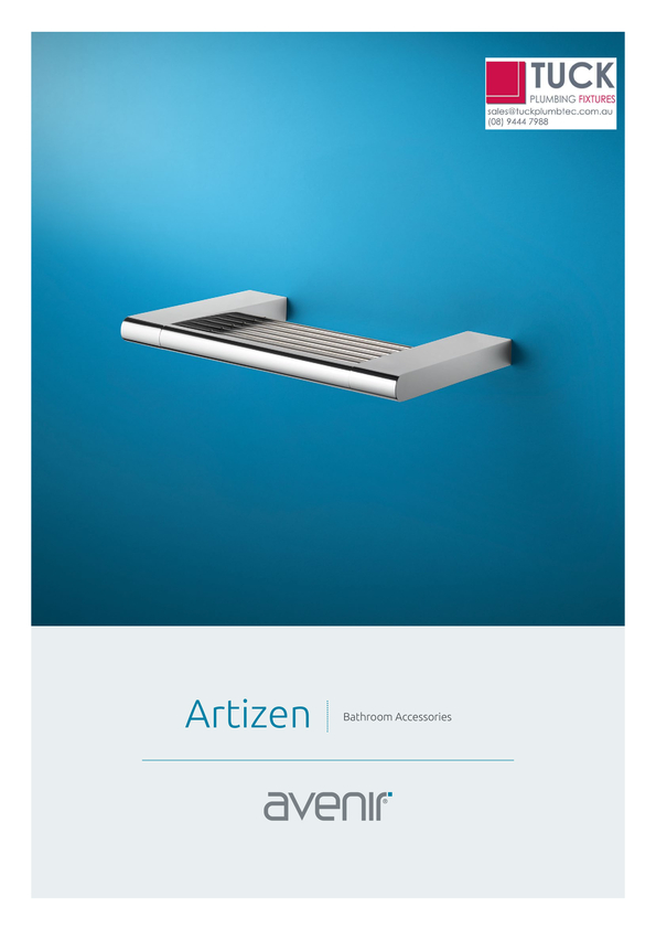 Browse Brochure: Avenir Artizen Bathroom Accessories