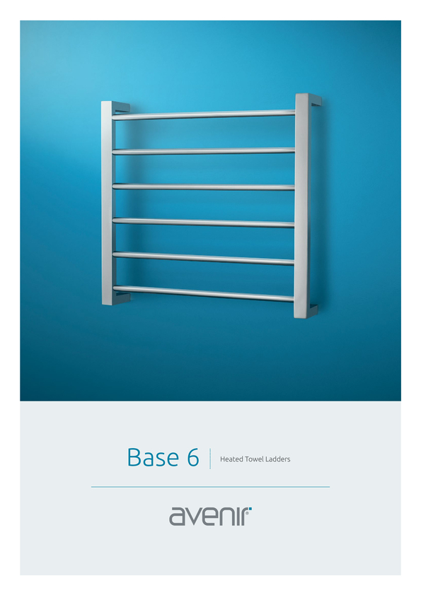 Browse Brochure: Avenir Base Heated Towel Rail