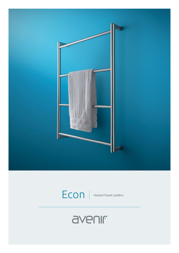 Browse Brochure: Avenir Econ Heated Towel Rail