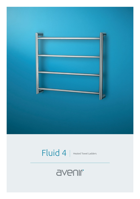 Browse Brochure: Avenir Fluid Heated Towel Rail