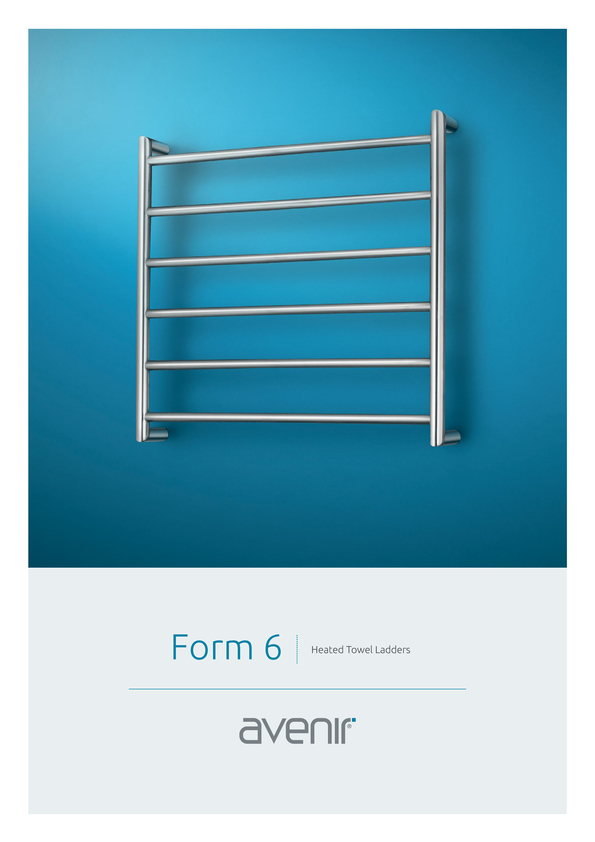 Browse Brochure: Avenir Form Heated Towel Rail