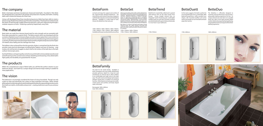 View Brochure: Bette Baths