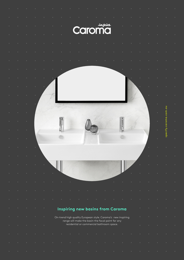 View Brochure: Caroma Basins