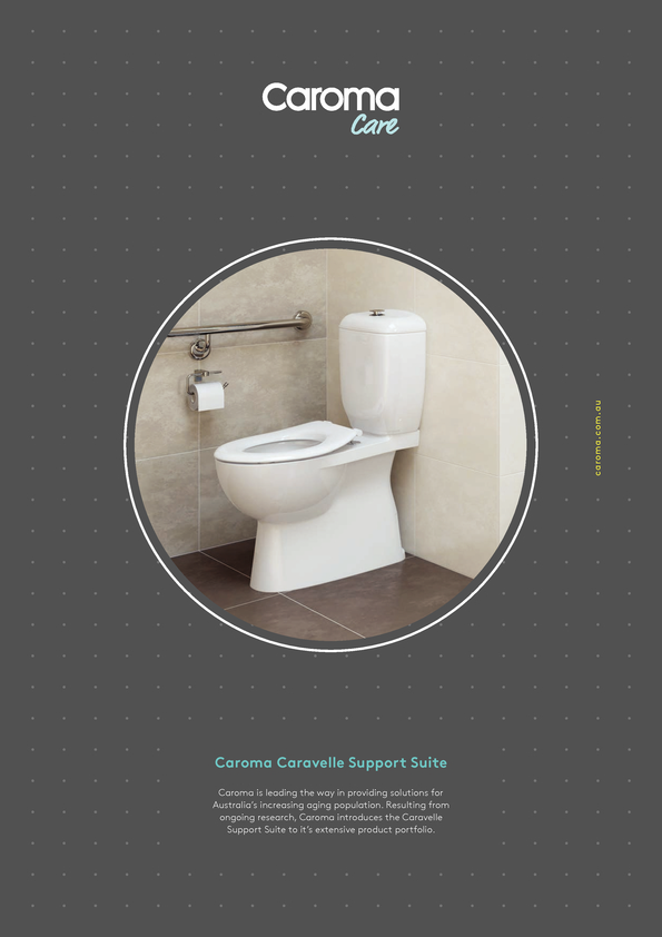 Browse Brochure: Caroma Caravelle Care